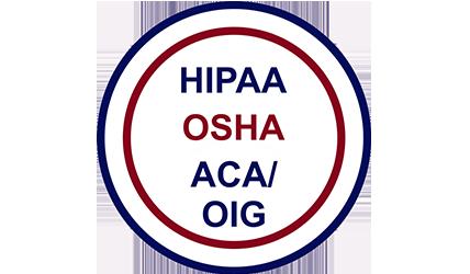HIPAA, OSHA, ACA, OIG, courses
