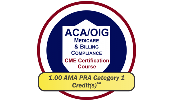 EPICourses ACA-OIG Medicare Billing Compliance CME Logo - Medium