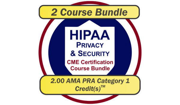 EPICourses HIPAA Privacy and Security CME Bundle Logo - Medium