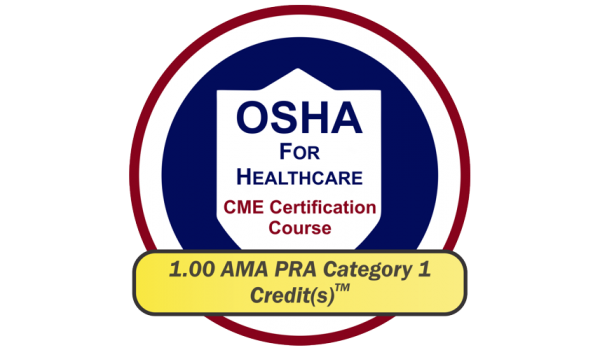EPICourses OSHA for Healthcare CME Logo - Medium