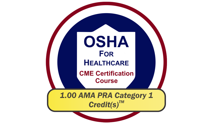 EPICourses OSHA for Healthcare CME Logo - Medium